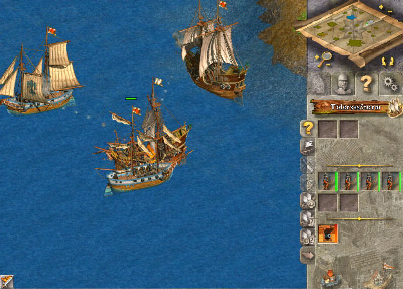 Pantallazo de Anno 1503: Treasures, Monsters, and Pirates para PC
