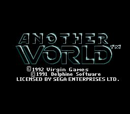 Pantallazo de Another World (Europa) para Sega Megadrive