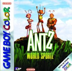 Caratula de Antz World Sportz para Game Boy Color