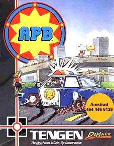Caratula de Apb/All Points Bulletin para Amstrad CPC