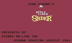 Pantallazo de Apple Cider Spider para Commodore 64
