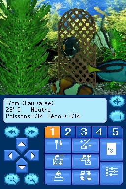 Pantallazo de Aquarium By DS para Nintendo DS