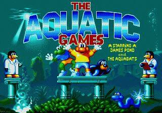 Pantallazo de Aquatic Games Starring James Pond and the Aquabats para Sega Megadrive