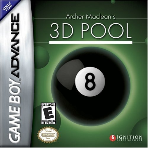 Caratula de Archer Maclean's 3D Pool para Game Boy Advance