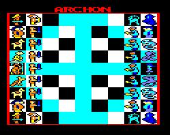Pantallazo de Archon: The Light And The Dark para Amstrad CPC