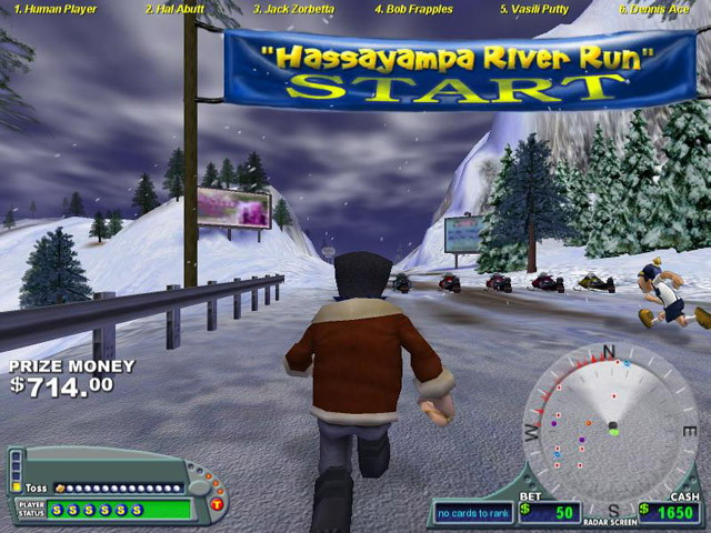 Pantallazo de Arctic Stud Poker Run para PC