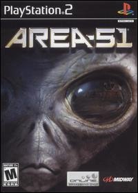 Caratula de Area 51 para PlayStation 2