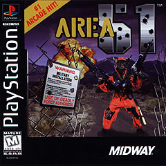 Caratula de Area 51 para PlayStation
