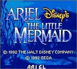Pantallazo de Ariel: Disney's The Little Mermaid para Gamegear