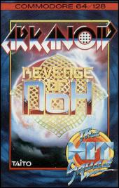 Caratula de Arkanoid 2: Revenge of Doh para Commodore 64