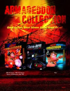 Caratula de Armageddon Collection para PC