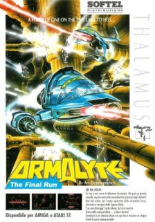Caratula de Armalyte: The Final Run para Amiga
