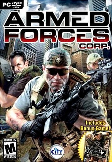 Caratula de Armed Forces Corp para PC