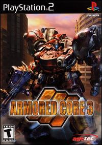 Caratula de Armored Core 3 para PlayStation 2