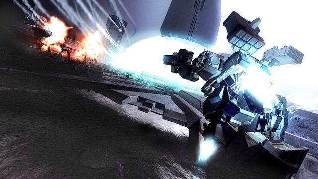 Pantallazo de Armored Core 4 para PlayStation 3