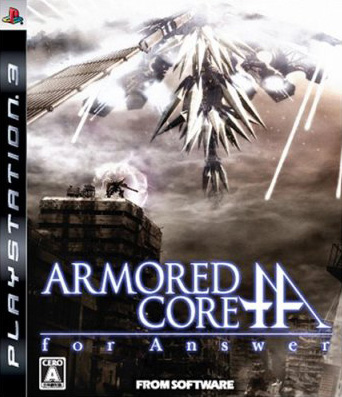 Caratula de Armored Core for Answer para PlayStation 3