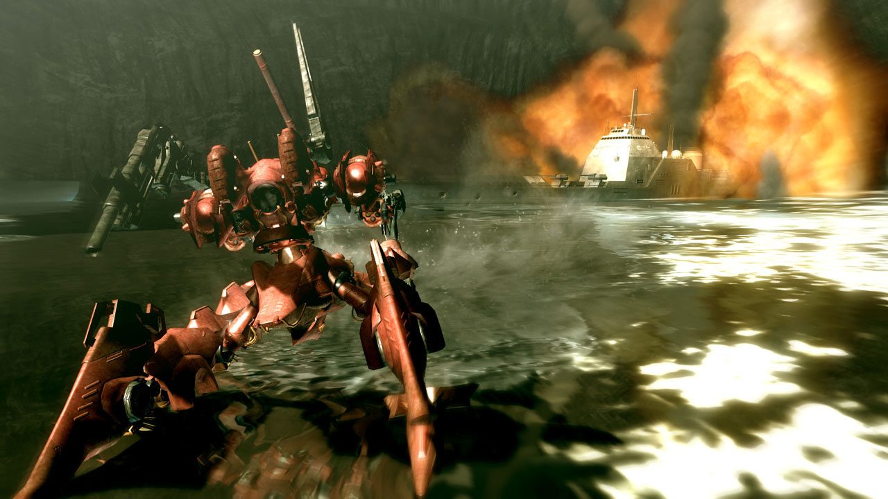 Pantallazo de Armored Core for Answer para Xbox 360