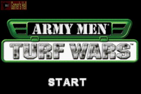 Pantallazo de Army Men: Turf Wars para Game Boy Advance