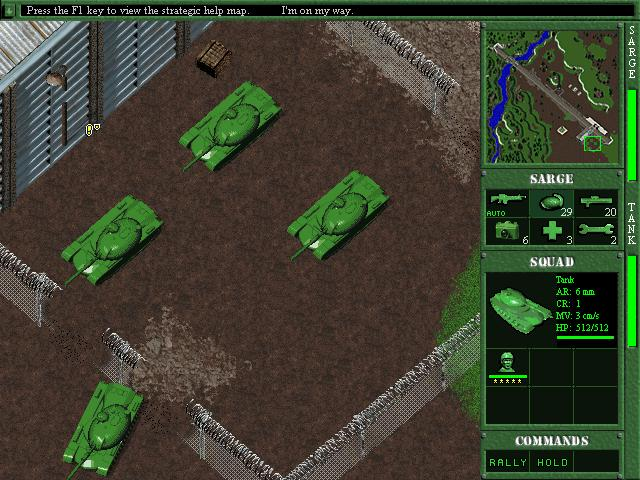 Pantallazo de Army Men II [Jewel Case] para PC