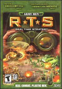 Caratula de Army Men RTS para PC