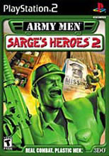 Caratula de Army Men Sarge's Heroes para PlayStation 2
