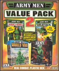 Caratula de Army Men Value Pack 2 para PC