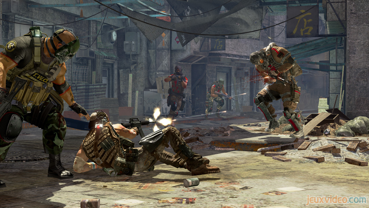 Pantallazo de Army of Two: The 40th Day para PlayStation 3