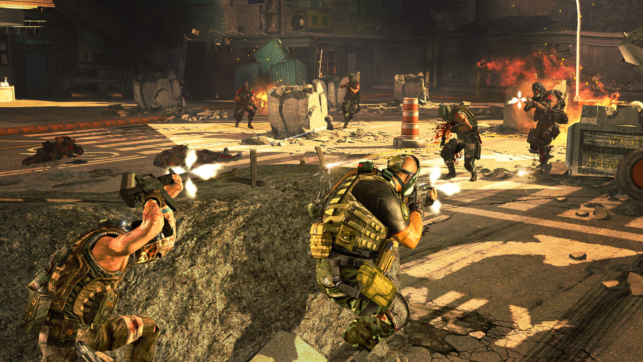 Pantallazo de Army of Two: The 40th Day para Xbox 360