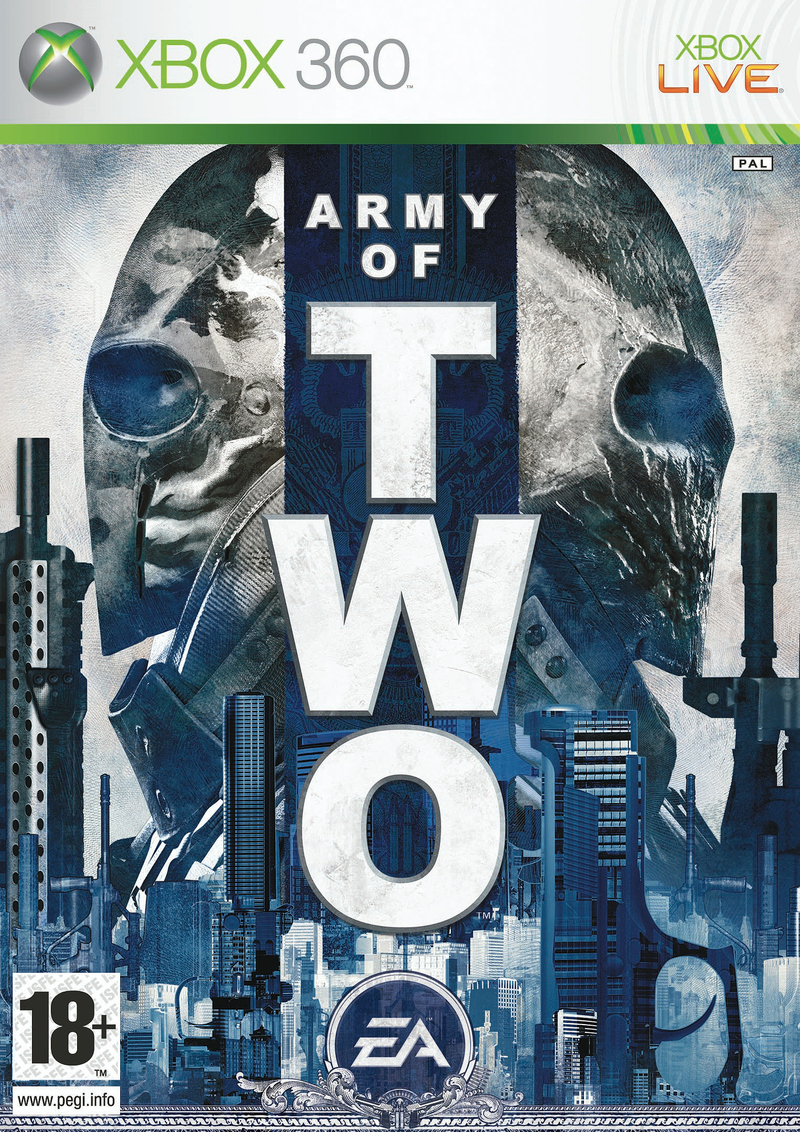 Caratula de Army of Two para Xbox 360