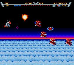 Pantallazo de Arrow Flash para Sega Megadrive