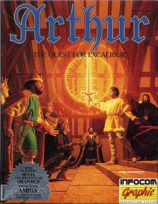 Caratula de Arthur: The Quest For Excalibur para Amiga