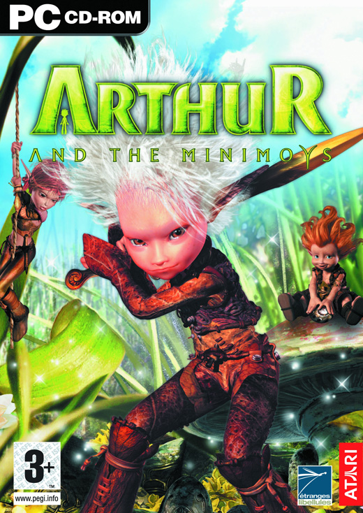 Caratula de Arthur and the Minimoys (AKA Arthur and the Invisibles) para PC