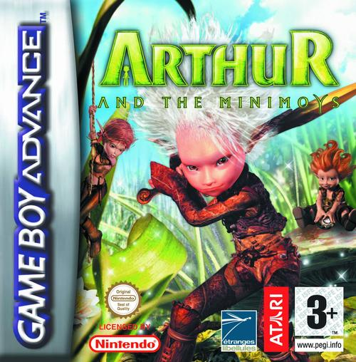Caratula de Arthur and the Minimoys para Game Boy Advance