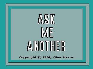 Pantallazo de Ask Me Another para Amiga