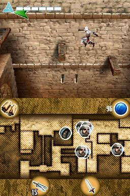Pantallazo de Assassin's Creed: Altaïr's Chronicles para Nintendo DS