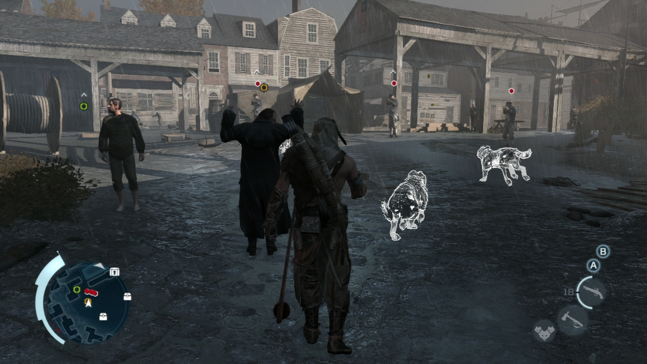 Pantallazo de Assassins Creed 3: La Tirania del Rey Washington - Episodio 2 La Traición para Xbox 360