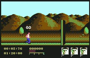 Pantallazo de Assault Course para Commodore 64