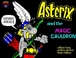 Pantallazo de Asterix and the Magic Cauldron para Spectrum