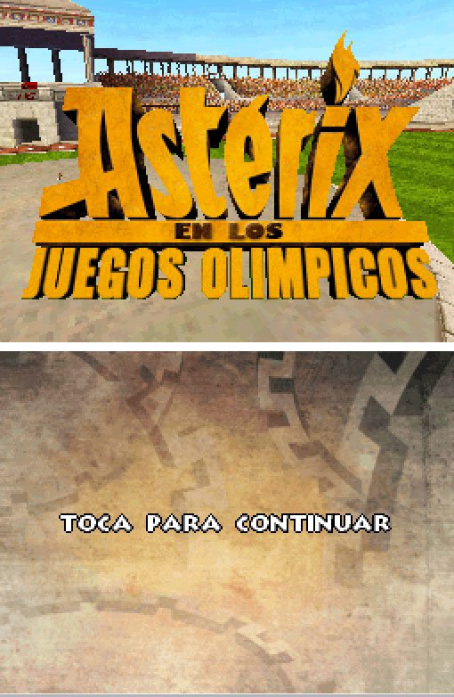 Pantallazo de Asterix at the Olympic Games para Nintendo DS