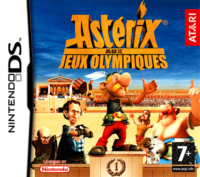 Caratula de Asterix at the Olympic Games para Nintendo DS
