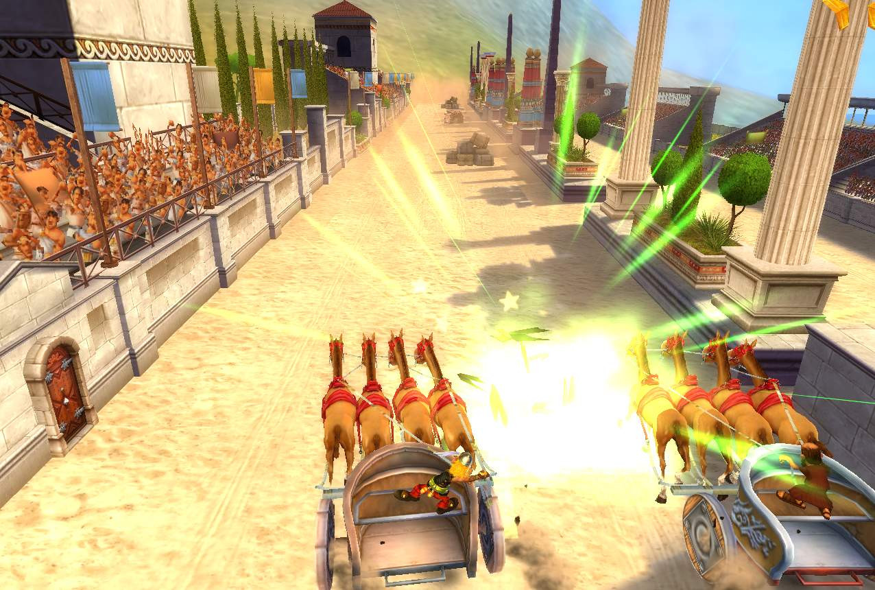 Pantallazo de Asterix at the Olympic Games para Wii