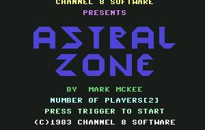 Pantallazo de Astral Zone para Commodore 64
