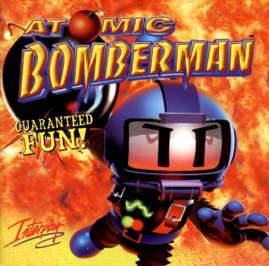 Caratula de Atomic Bomberman para PC