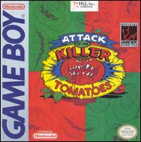 Caratula de Attack of the Killer Tomatoes para Game Boy