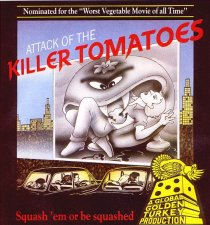 Caratula de Attack of the Killer Tomatoes para MSX