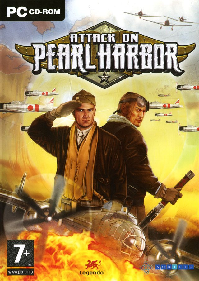 Caratula de Attack on Pearl Harbor para PC