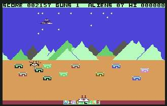 Pantallazo de Attack on Windscale para Commodore 64