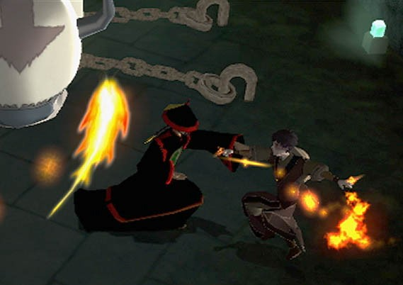 Pantallazo de Avatar: The Burning Earth para Wii