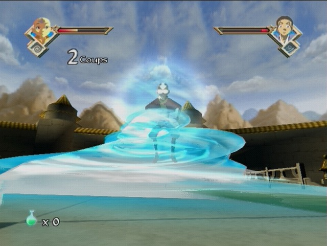 Pantallazo de Avatar: The Last Airbender - The Burning Earth para PlayStation 2