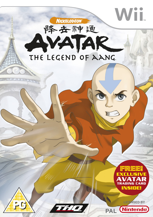Caratula de Avatar: The Legend of Aang para Wii